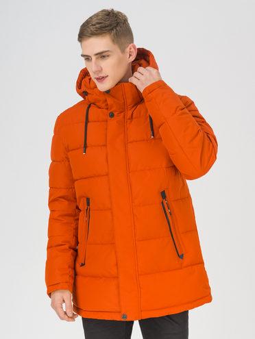 Пуховик 100% полиэстер, цвет оранжевый, арт. 10810953  - цена 11990 руб.  - магазин TOTOGROUP