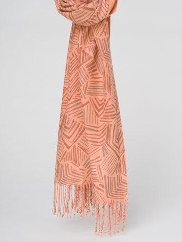 ШАРФ 70% кашемир 30% полиэстер, цвет оранжевый, арт. 10811022  - цена 1490 руб.  - магазин TOTOGROUP