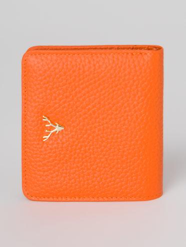 Кошелек кожа теленок, цвет оранжевый, арт. 10811291  - цена 1130 руб.  - магазин TOTOGROUP