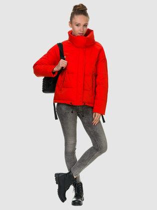 Пуховик текстиль, цвет красный, арт. 10900626  - цена 7990 руб.  - магазин TOTOGROUP