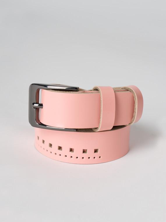 Ремень кожа корова, цвет розовый, арт. 11005927  - цена 890 руб.  - магазин TOTOGROUP