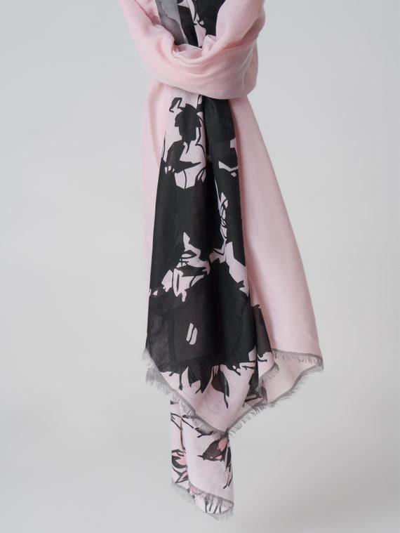 Шарф 100% бамбук, цвет розовый, арт. 11005983  - цена 940 руб.  - магазин TOTOGROUP