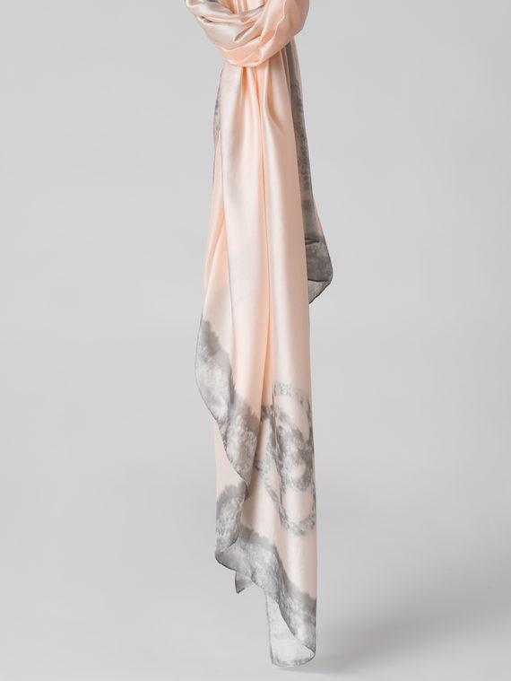 Шарф 100% шелк, цвет розовый, арт. 11005988  - цена 990 руб.  - магазин TOTOGROUP