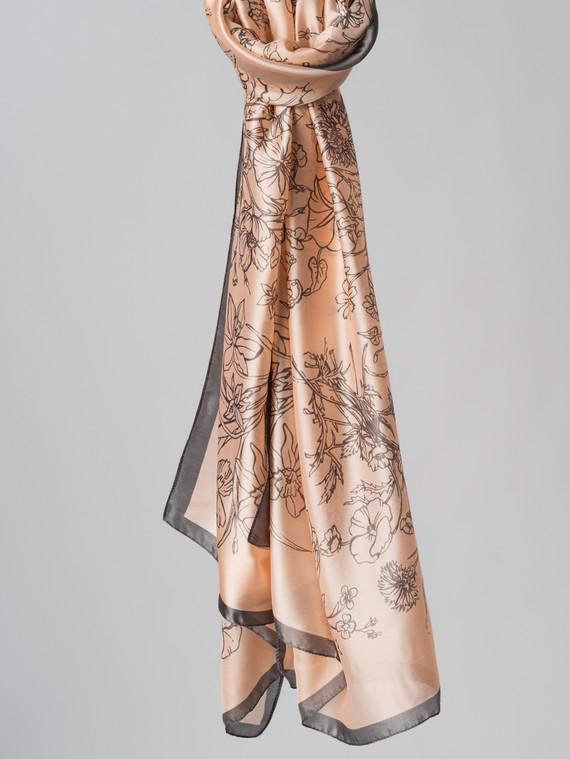 Шарф 100% шелк, цвет розовый, арт. 11005991  - цена 1490 руб.  - магазин TOTOGROUP
