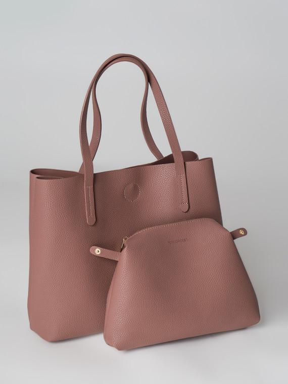Сумка эко кожа флоттер, цвет розовый, арт. 11006001  - цена 2550 руб.  - магазин TOTOGROUP