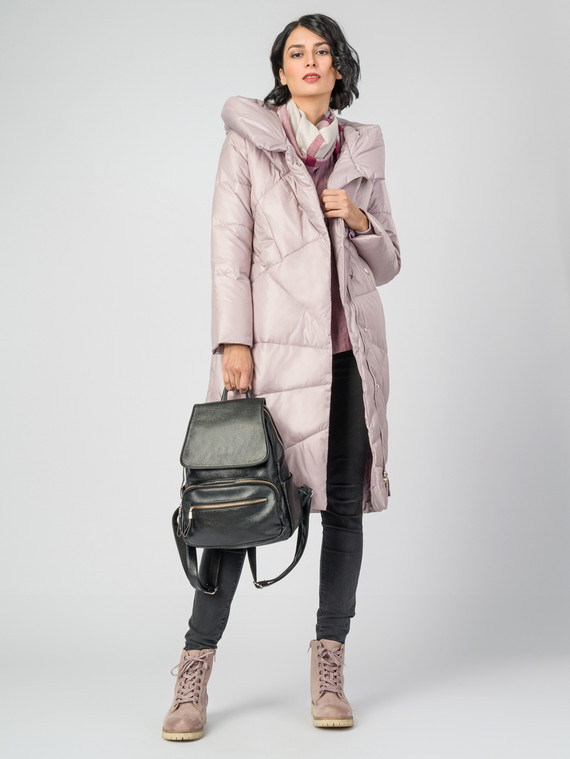 Пуховик текстиль, цвет розовый, арт. 11006223  - цена 9490 руб.  - магазин TOTOGROUP