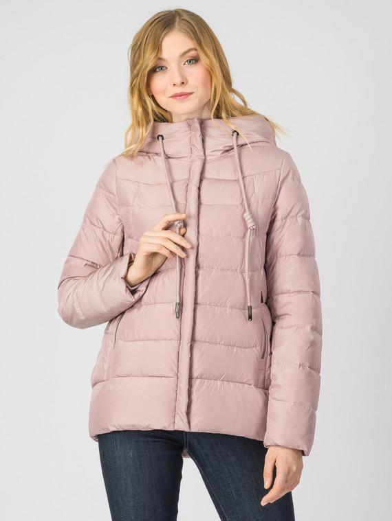 Пуховик текстиль, цвет розовый, арт. 11006229  - цена 4490 руб.  - магазин TOTOGROUP