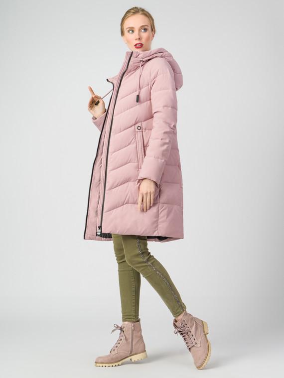 Пуховик текстиль, цвет розовый, арт. 11006283  - цена 4990 руб.  - магазин TOTOGROUP
