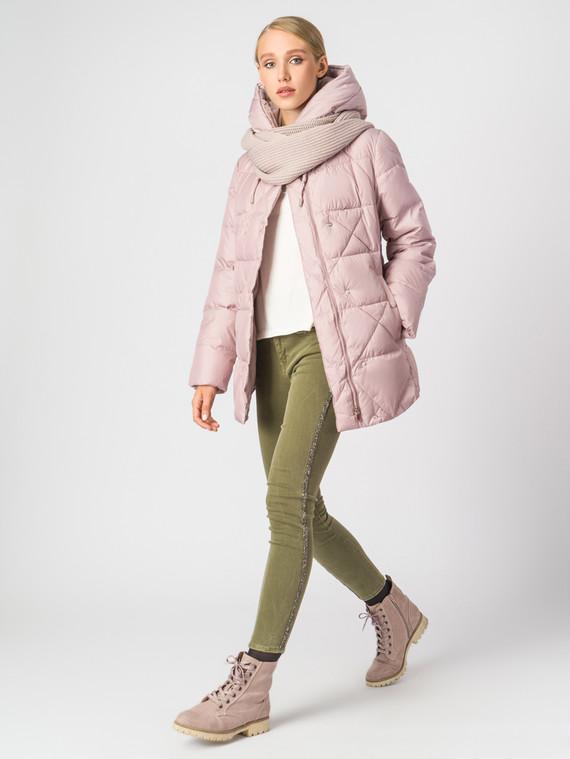Пуховик текстиль, цвет розовый, арт. 11006289  - цена 4990 руб.  - магазин TOTOGROUP