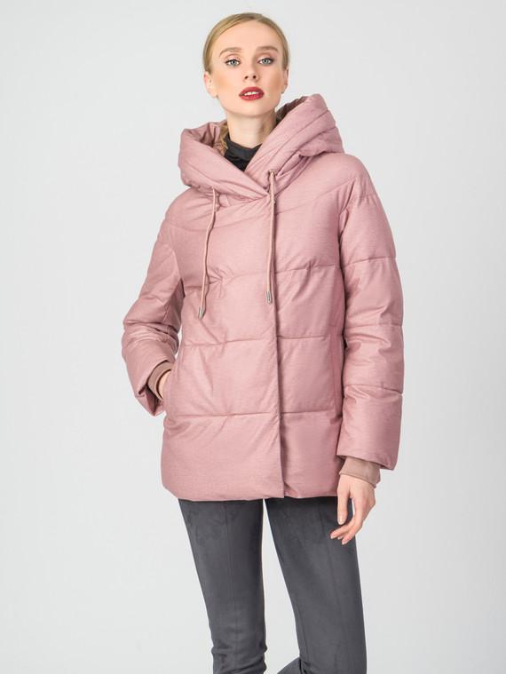 Пуховик текстиль, цвет розовый, арт. 11006435  - цена 6290 руб.  - магазин TOTOGROUP