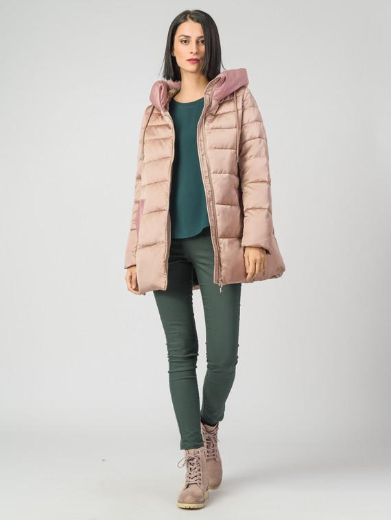 Пуховик текстиль, цвет розовый, арт. 11006450  - цена 4990 руб.  - магазин TOTOGROUP