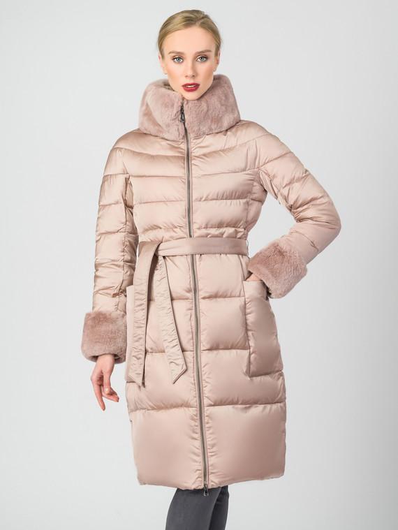 Пуховик текстиль, цвет розовый, арт. 11006451  - цена 10590 руб.  - магазин TOTOGROUP