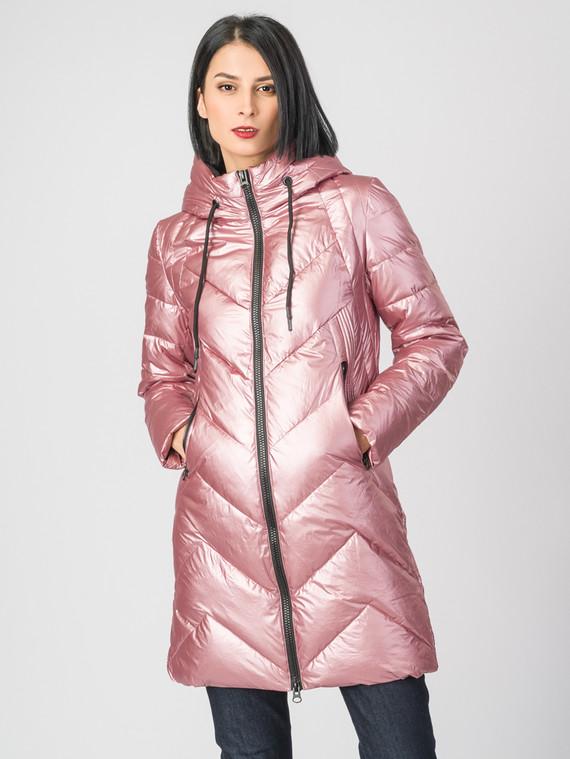 Пуховик текстиль, цвет розовый, арт. 11006478  - цена 5590 руб.  - магазин TOTOGROUP
