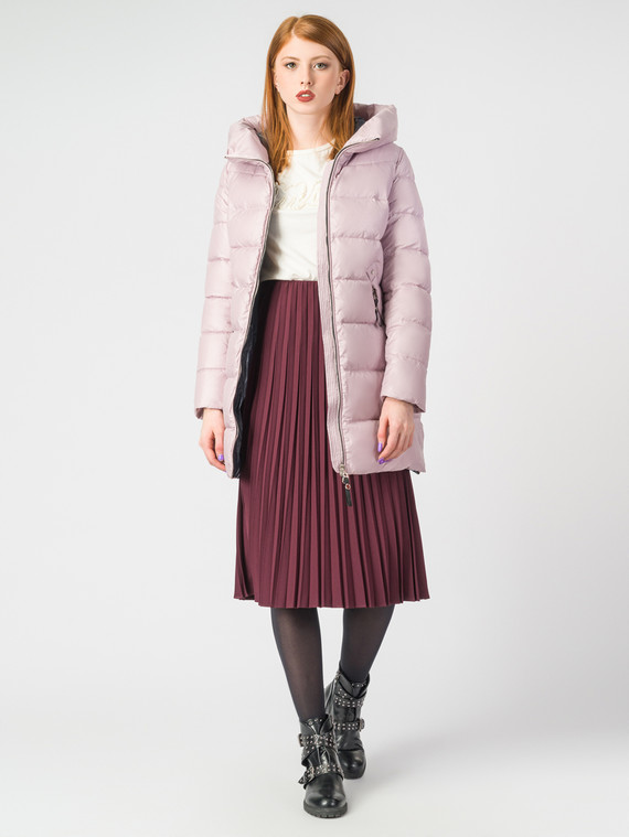 Пуховик текстиль, цвет розовый, арт. 11006515  - цена 4990 руб.  - магазин TOTOGROUP