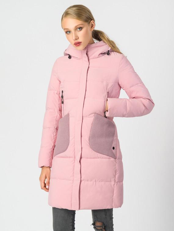 Пуховик текстиль, цвет розовый, арт. 11006583  - цена 6290 руб.  - магазин TOTOGROUP