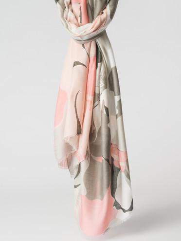 Шарф 100% вискоза, цвет розовый, арт. 11007155  - цена 1070 руб.  - магазин TOTOGROUP