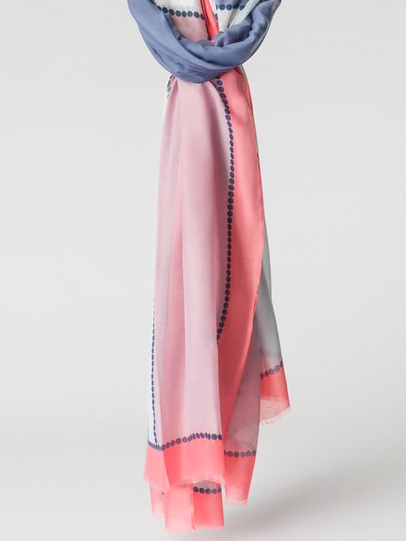 Шарф 100% вискоза, цвет розовый, арт. 11007158  - цена 940 руб.  - магазин TOTOGROUP