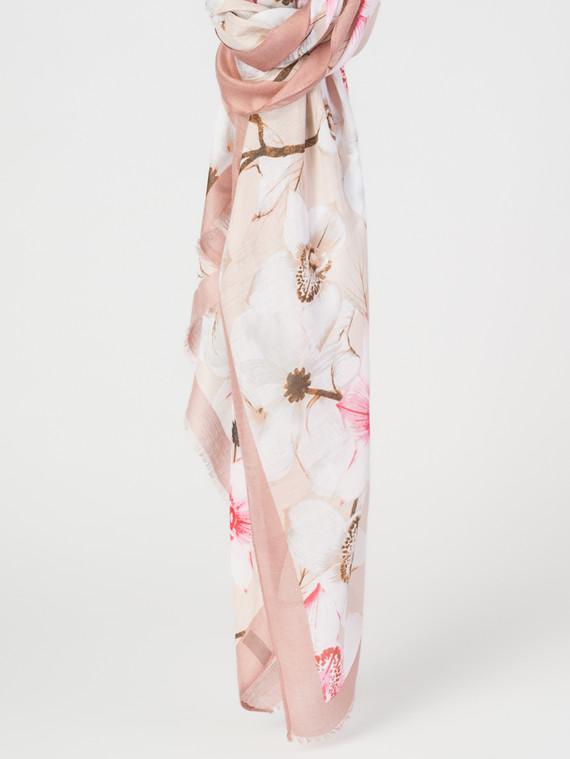 Шарф 30%бамбук,70%хлопок, цвет розовый, арт. 11007675  - цена 940 руб.  - магазин TOTOGROUP