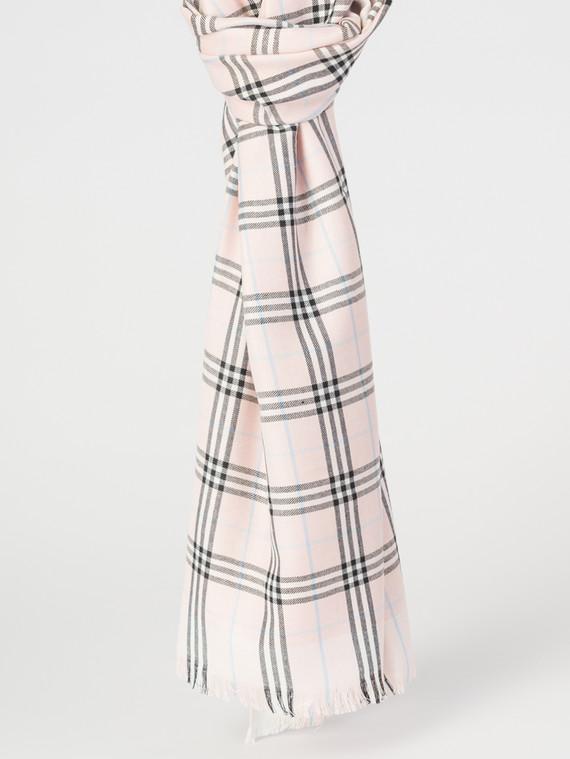 Шарф 50% хлопок,50%кашемир, цвет розовый, арт. 11007682  - цена 990 руб.  - магазин TOTOGROUP