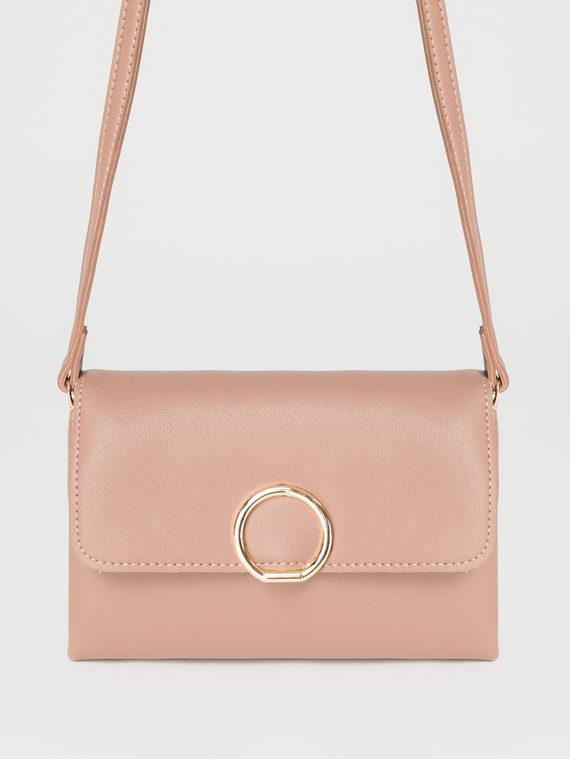 Сумка эко-кожа теленок, цвет розовый, арт. 11107850  - цена 1850 руб.  - магазин TOTOGROUP