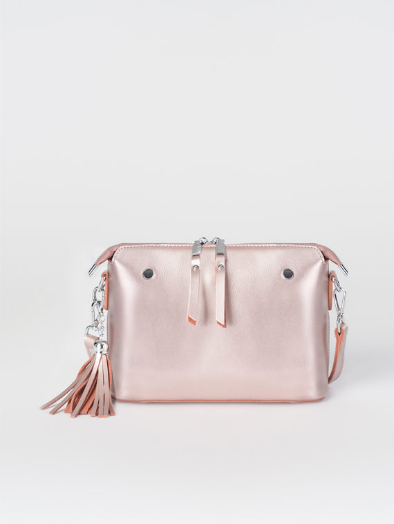 Сумка кожа теленок, цвет розовый, арт. 11108266  - цена 3590 руб.  - магазин TOTOGROUP