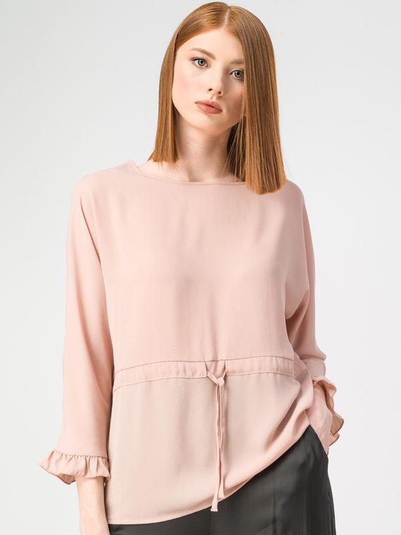 Блуза 100% полиэстер, цвет розовый, арт. 11108315  - цена 2420 руб.  - магазин TOTOGROUP