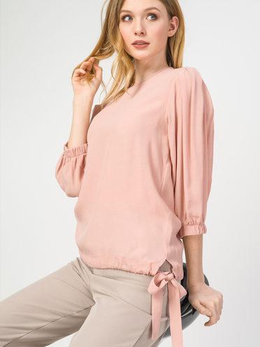 Блуза 100% вискоза, цвет розовый, арт. 11108321  - цена 1570 руб.  - магазин TOTOGROUP