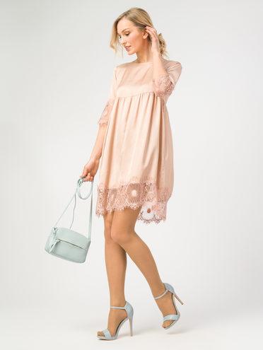 ПЛАТЬЕ 100% вискоза, цвет розовый, арт. 11108333  - цена 790 руб.  - магазин TOTOGROUP