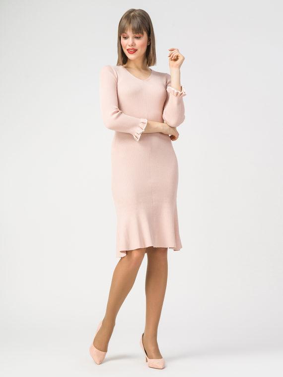 Платье 70%вискоза,30%нейлон, цвет розовый, арт. 11108409  - цена 1950 руб.  - магазин TOTOGROUP