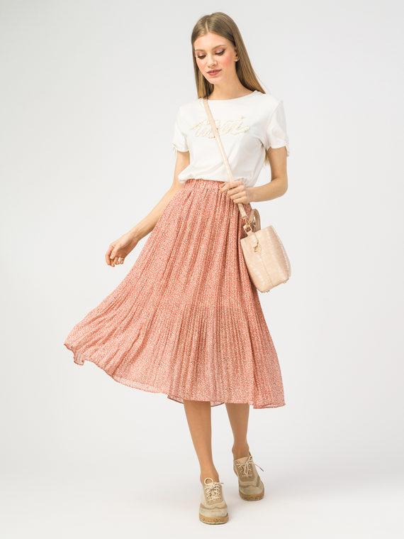 Юбка 100% вискоза, цвет розовый, арт. 11108416  - цена 1410 руб.  - магазин TOTOGROUP