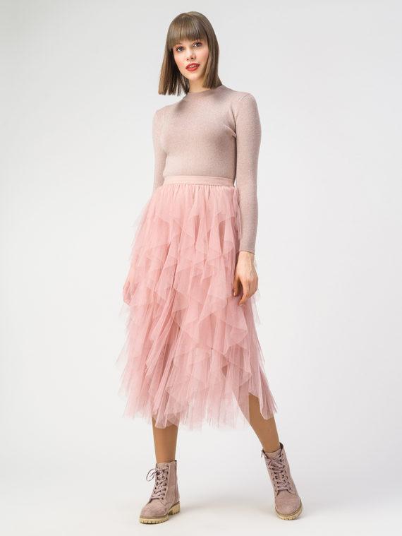 Юбка 100% полиэстер, цвет розовый, арт. 11108424  - цена 1950 руб.  - магазин TOTOGROUP