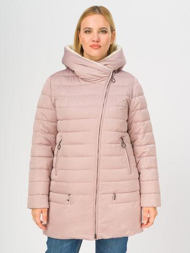 Пуховик 100% полиэстер, цвет розовый, арт. 11108501  - цена 8990 руб.  - магазин TOTOGROUP