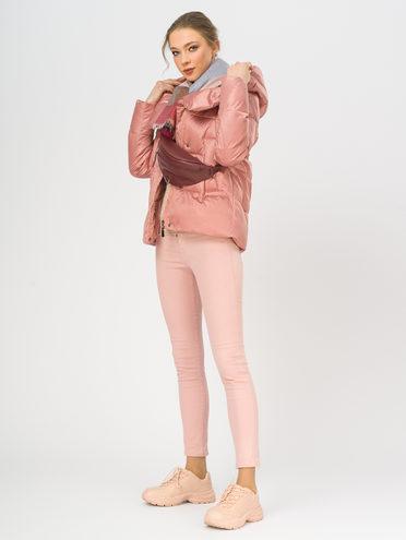 Пуховик 100% полиэстер, цвет розовый, арт. 11108562  - цена 4740 руб.  - магазин TOTOGROUP