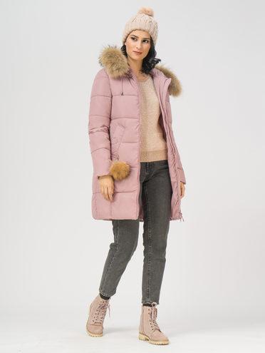 Пуховик текстиль, цвет розовый, арт. 11108943  - цена 6630 руб.  - магазин TOTOGROUP