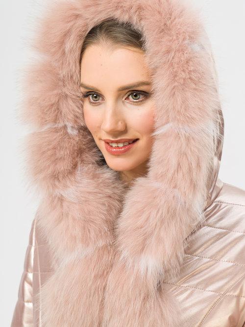 Кожаное пальто артикул 11109077/42 - фото 4