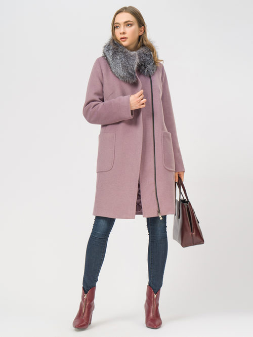 Текстильное пальто артикул 11109098/48 - фото 2