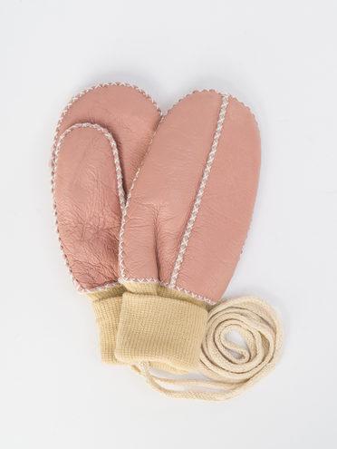 Перчатки дуб. овчина овчина крашен., цвет розовый, арт. 11109380  - цена 350 руб.  - магазин TOTOGROUP