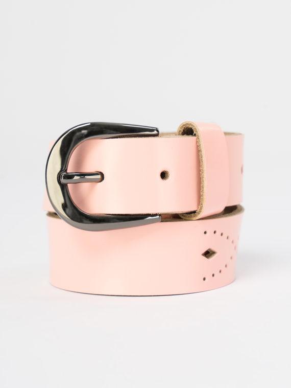 Ремень кожа корова, цвет розовый, арт. 11109472  - цена 840 руб.  - магазин TOTOGROUP