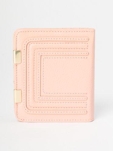 Кошелек кожа флоттер, цвет розовый, арт. 11109637  - цена 1410 руб.  - магазин TOTOGROUP