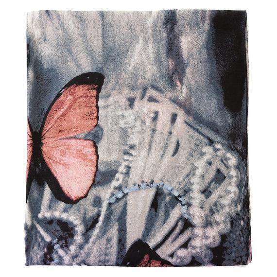 Шарф 30%бамбук,70%хлопок, цвет розовый, арт. 11700232  - цена 440 руб.  - магазин TOTOGROUP