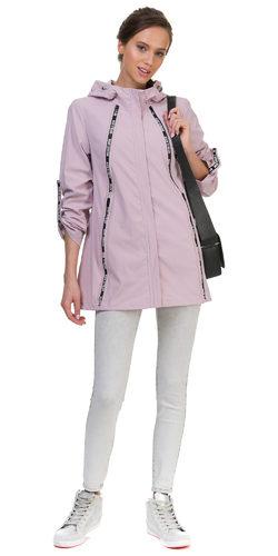 Ветровка текстиль, цвет розовый, арт. 11700296  - цена 4690 руб.  - магазин TOTOGROUP