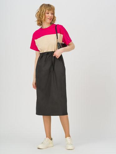 Женское платье 70% хлопок, 30% полиэстер, цвет розовый, арт. 11711709  - цена 1410 руб.  - магазин TOTOGROUP