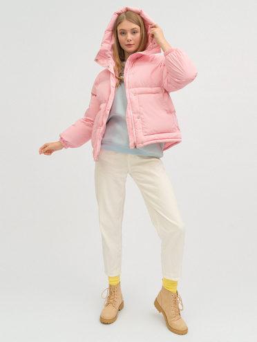 ПУХОВИК 100% полиэстер, цвет розовый, арт. 11720143  - цена 3990 руб.  - магазин TOTOGROUP