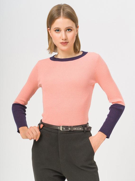 Джемпер 50% вискоза, 28% полиэстер, 22% нейлон, цвет розовый, арт. 11810241  - цена 890 руб.  - магазин TOTOGROUP