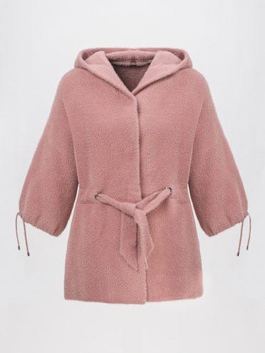 Текстильная куртка 100% полиэстер, цвет розовый, арт. 11810265  - цена 3390 руб.  - магазин TOTOGROUP