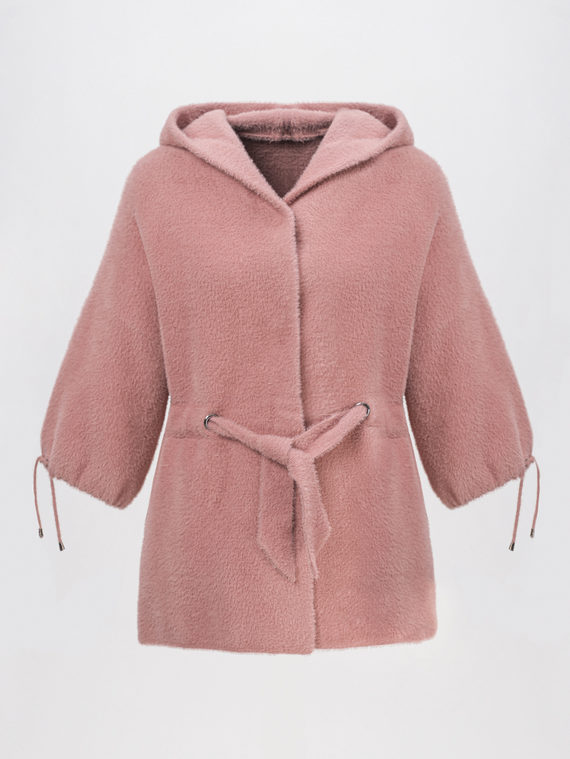 Текстильная куртка 100% полиэстер, цвет розовый, арт. 11810265  - цена 4490 руб.  - магазин TOTOGROUP
