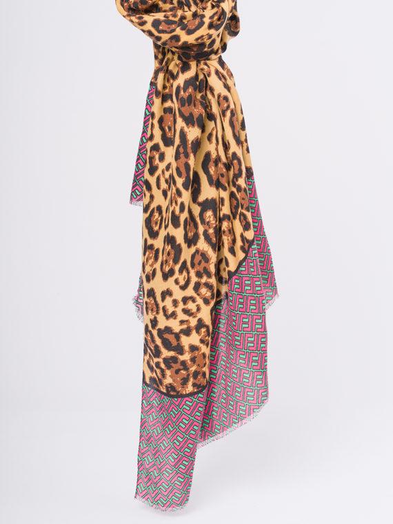 Шарф 50%хлопок,50%бамбук, цвет розовый, арт. 11810294  - цена 740 руб.  - магазин TOTOGROUP