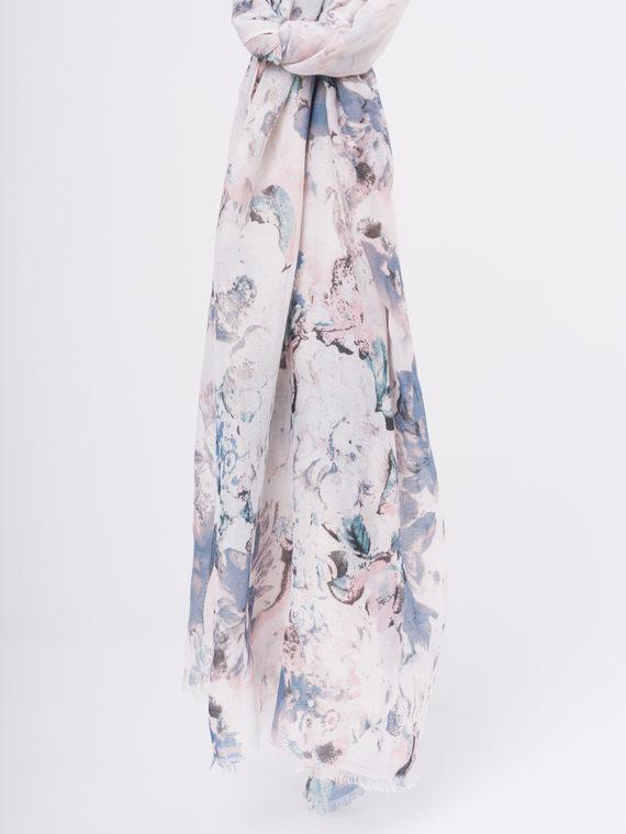 Шарф 50%хлопок,50%вискоза, цвет розовый, арт. 11810298  - цена 940 руб.  - магазин TOTOGROUP