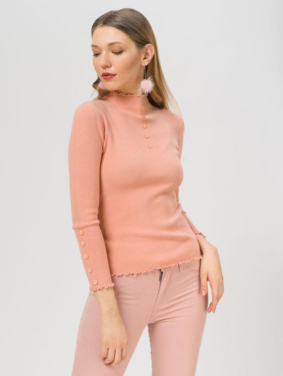 Джемпер 45% вискоза, 30% полиэстер, 25% нейлон, цвет розовый, арт. 11810341  - цена 990 руб.  - магазин TOTOGROUP