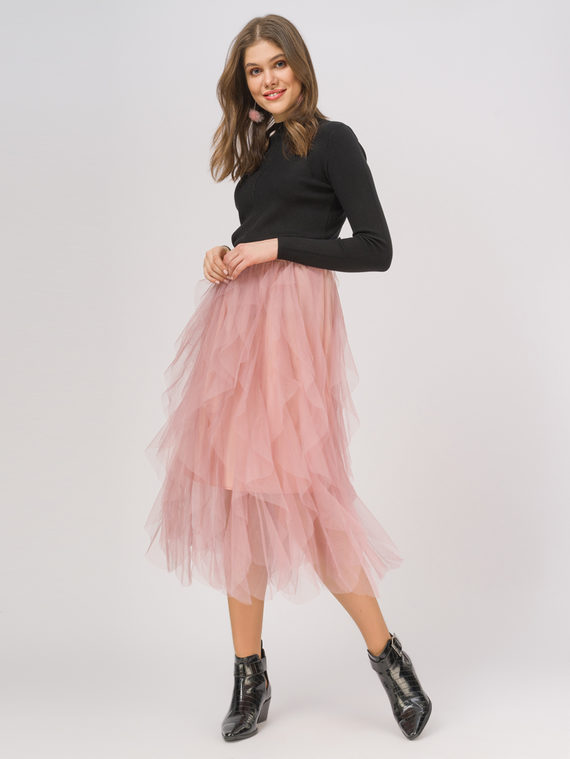 Юбка 100% полиэстер, цвет розовый, арт. 11810350  - цена 1990 руб.  - магазин TOTOGROUP